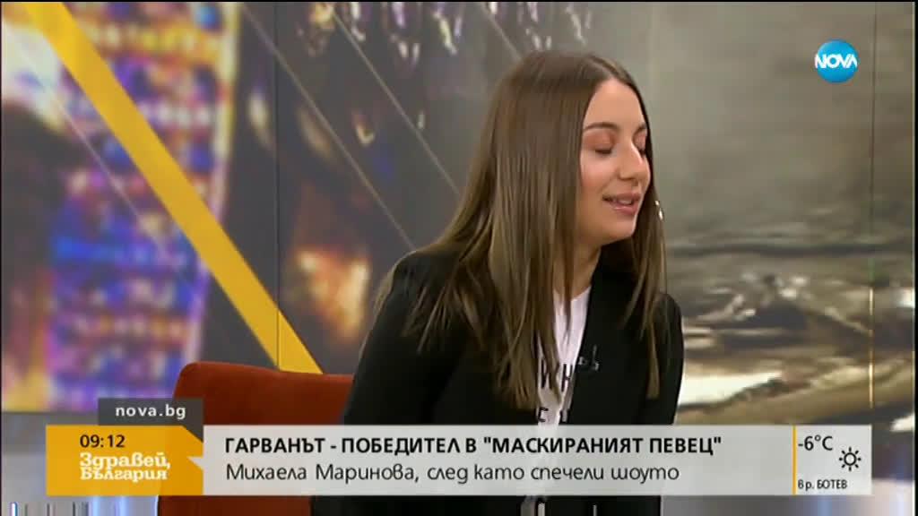 """ГАРВАНЪТ е победителят в """"Маскираният певец"""""""