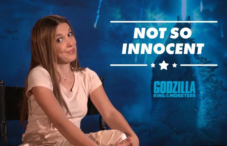 Millie Bobby Brown\'s Godzilla co-stars joke she\'s \'psychotic\'