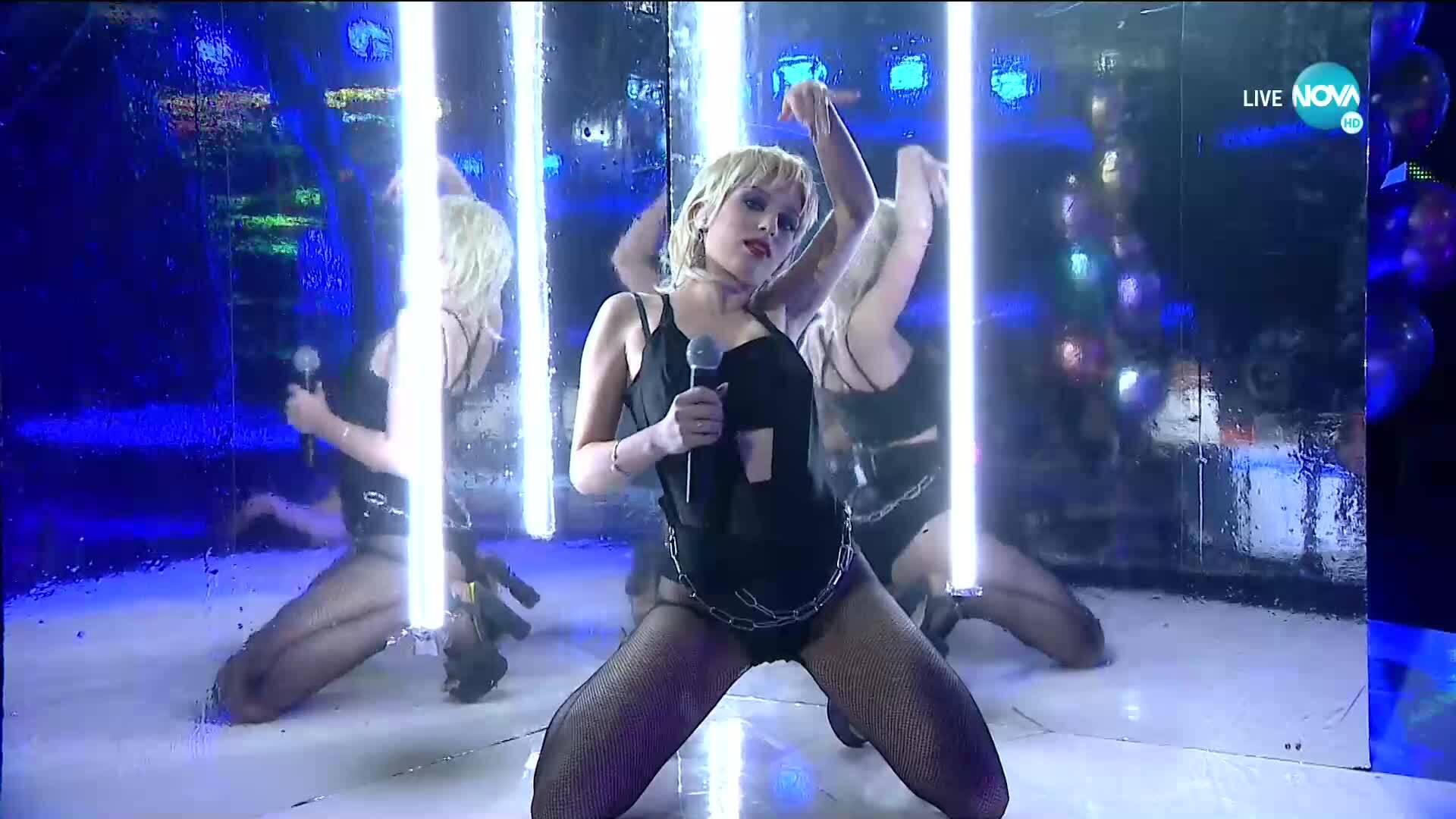 "Михаела Маринова като Miley Cyrus - ""Midnight Sky"" | Като две капки вода"