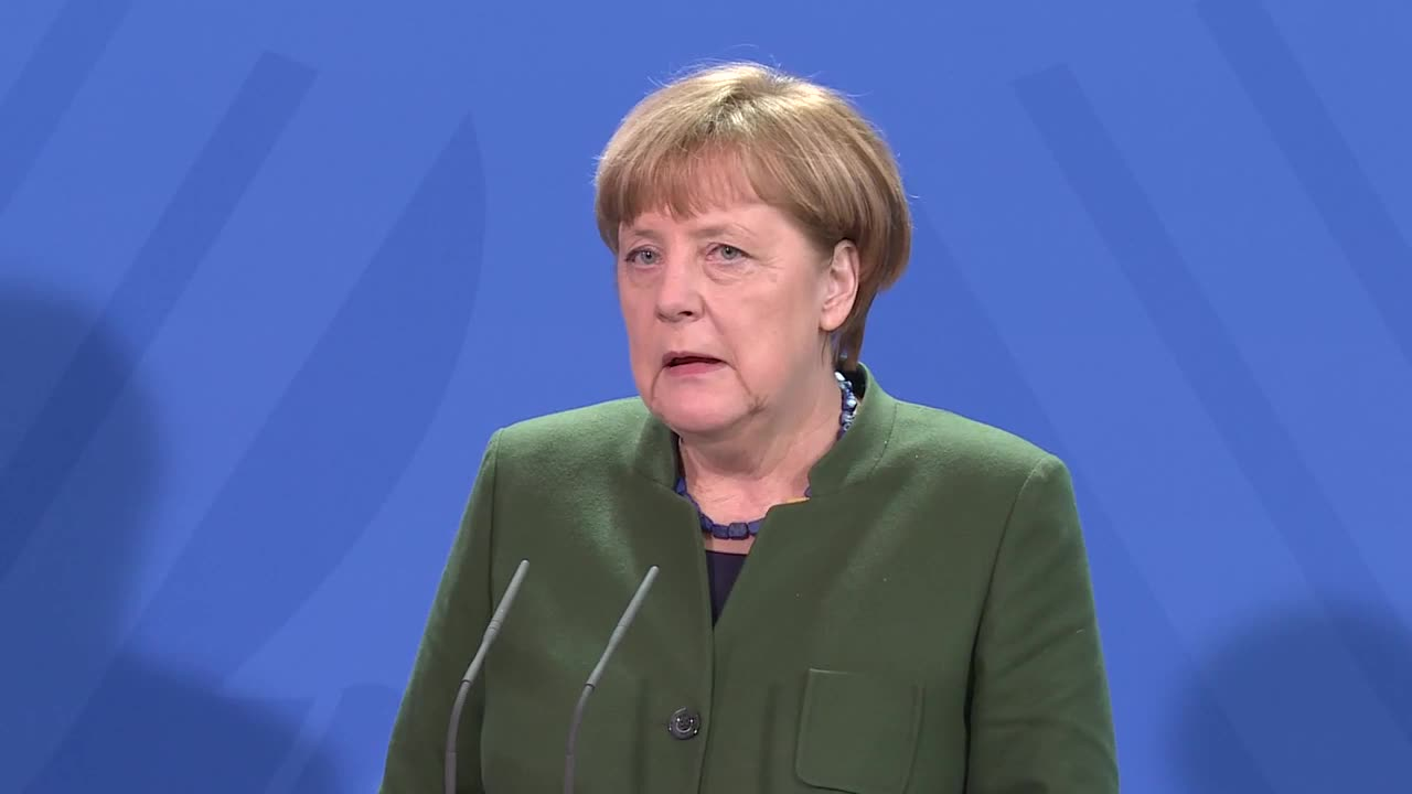 Germany: Fight against terrorism does not justify Trump's travel ban - Merkel