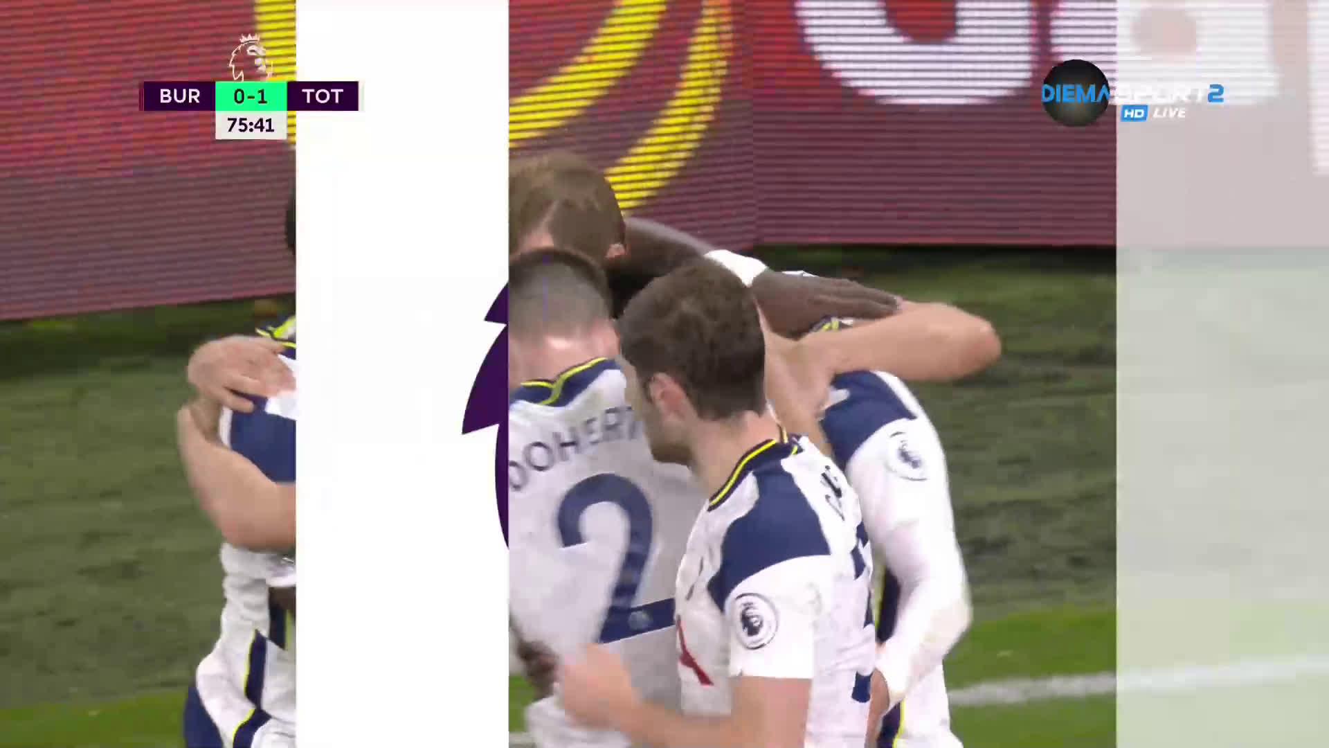 Сон наказа Бърнли в края на мача