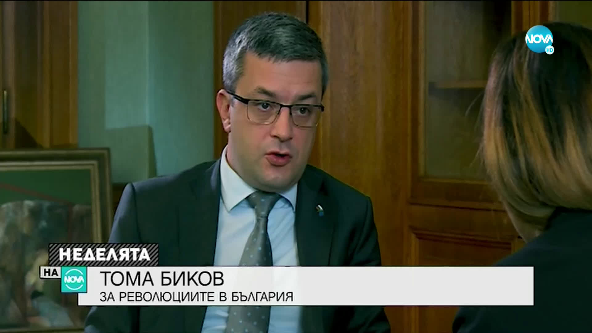 Тома Биков за революциите в България