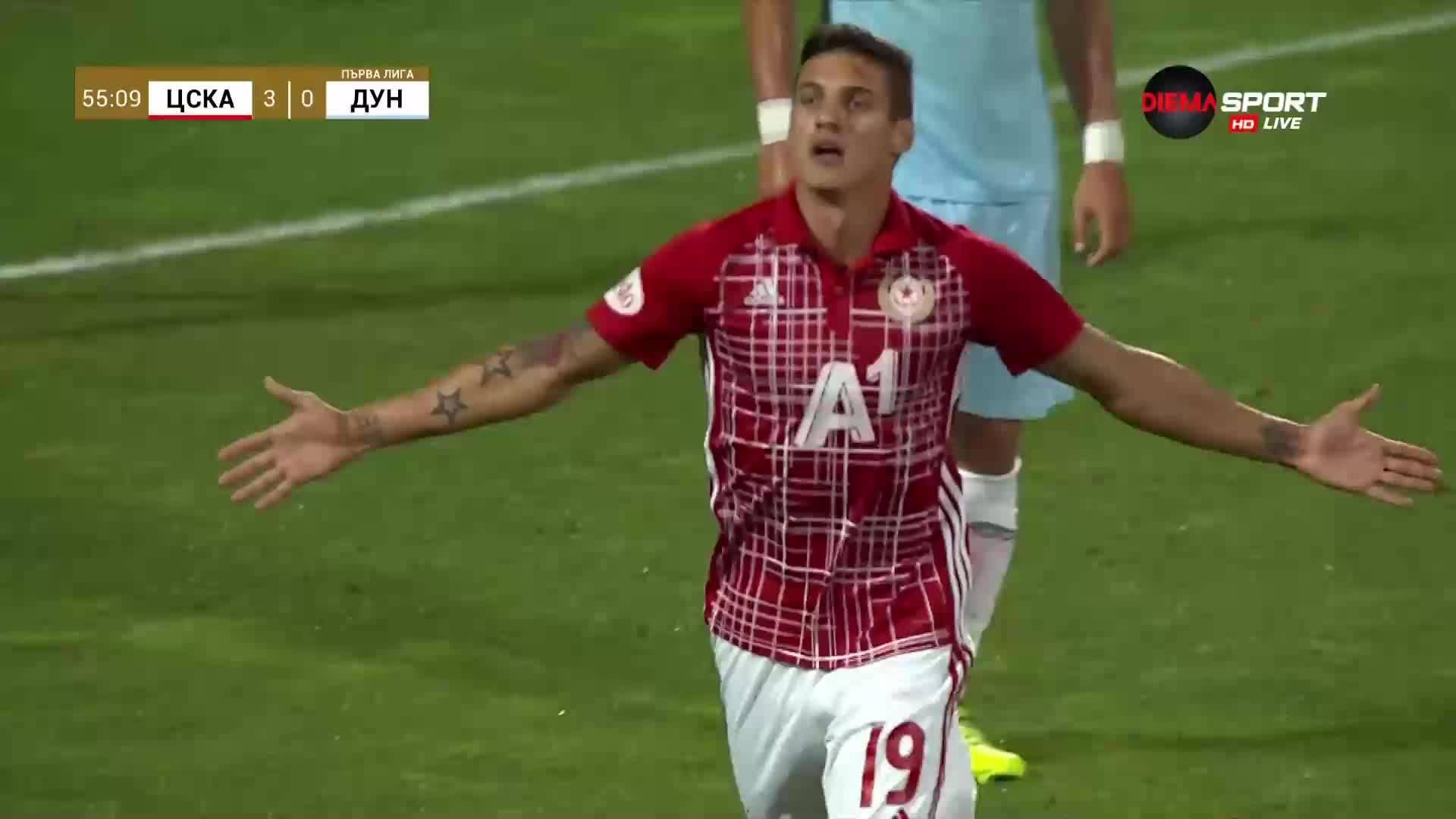 Страхотно изпълнение на Десподов и трети гол за ЦСКА