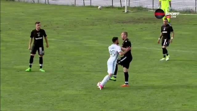 Моци главно действащо лице в нов сблъсък с играчи на Ахмат