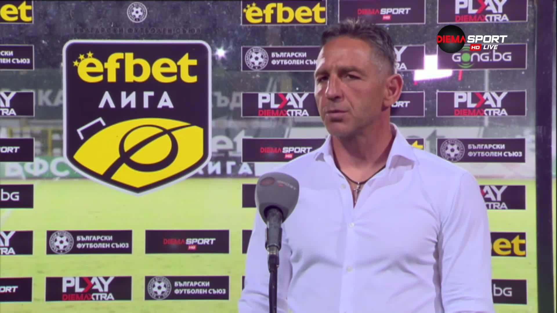 Петър Колев: Този отбор има нужда от време да се обиграе