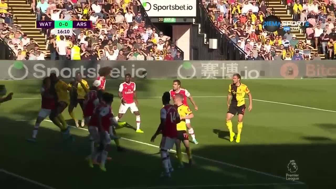 Уотфорд - Арсенал 2:2 /репортаж/