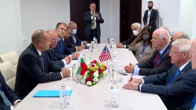 Радев: България се стреми към привличането на повече инвестиции от САЩ