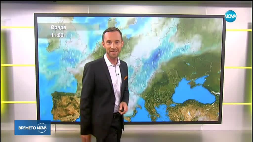 Прогноза за времето (13.08.2019 - сутрешна)