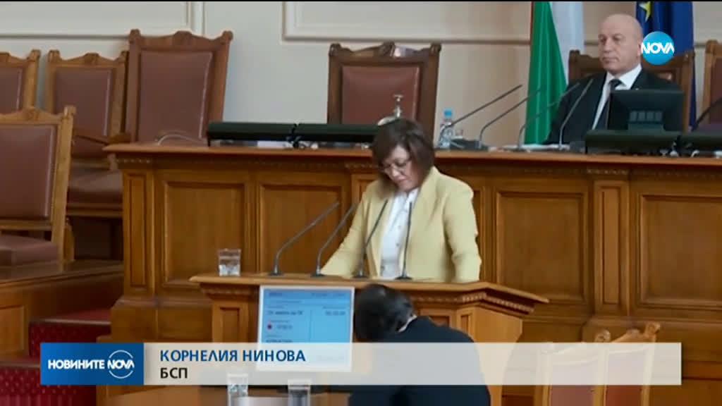 Спор и упреци в парламента заради ситуацията с протестиращите мед. сестри