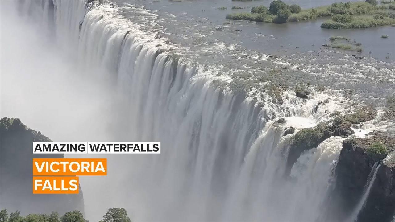 Amazing Waterfalls: Zambia's jaw-dropping natural wonder