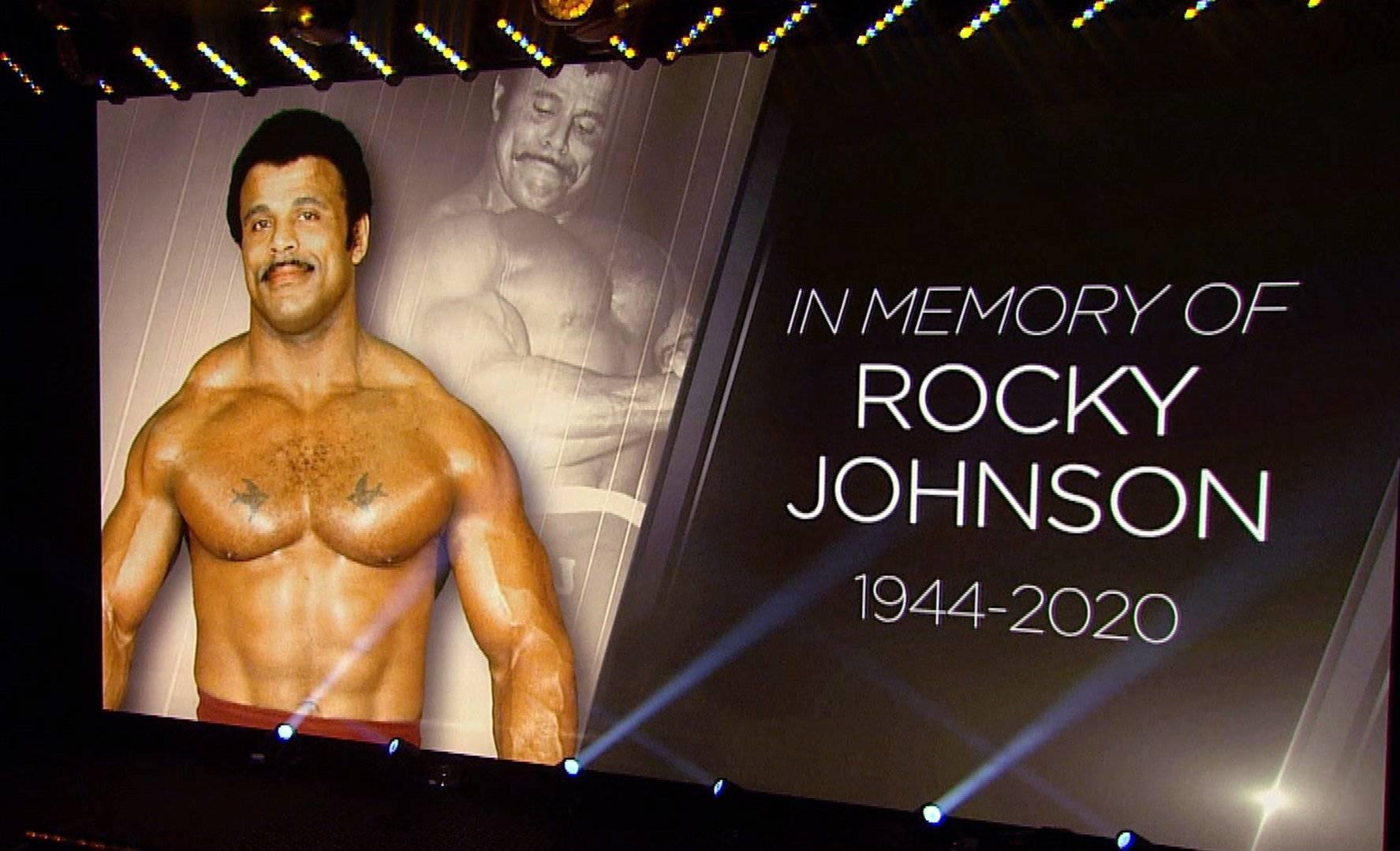 В чест на кечиста Роки Джонсън