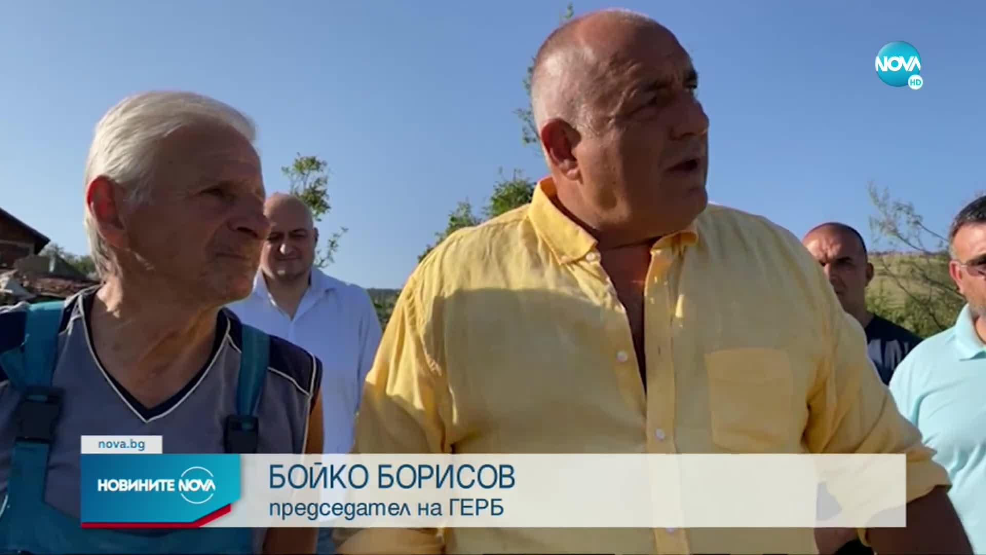 """Борисов: ГЕРБ няма да подкрепи правителството на """"Има такъв народ"""""""