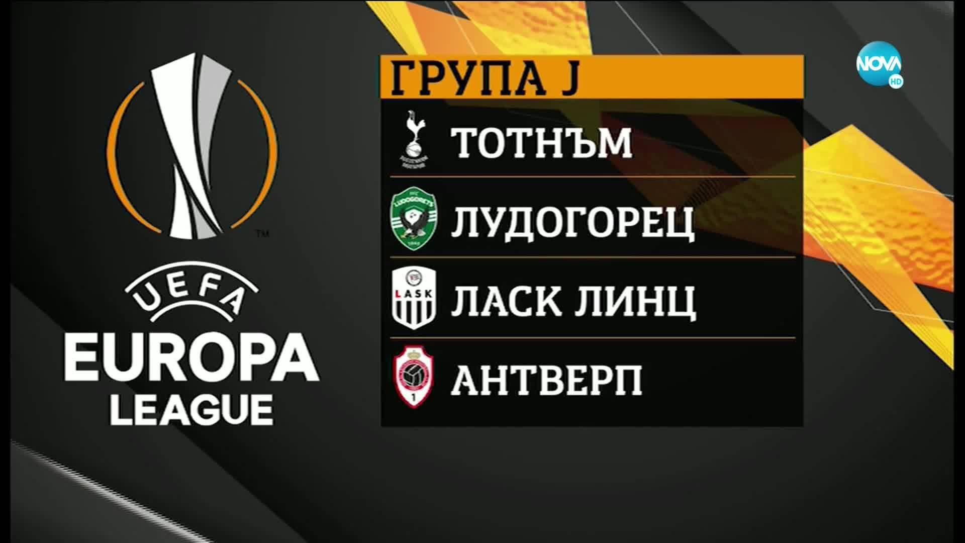 Жребият на Лудогорец и ЦСКА за групите на Лига Европа