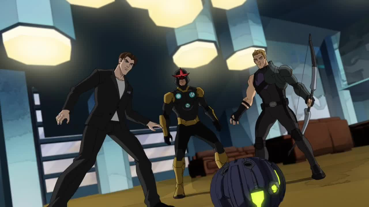 Ultimate spider man web warriors 3x22 nightmare on - Nova ultimate spider man ...