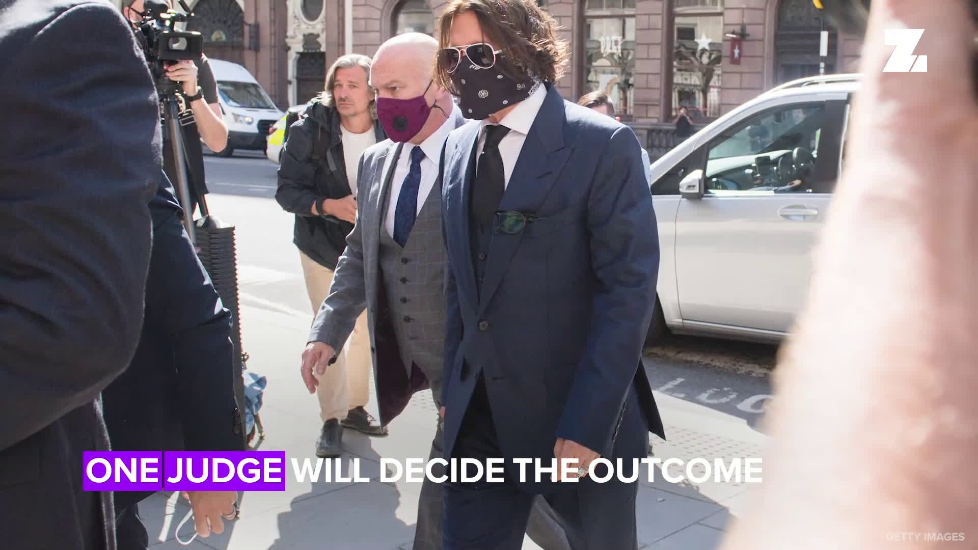 Johnny Depp & Amber Heard come face-to-face in London High Court