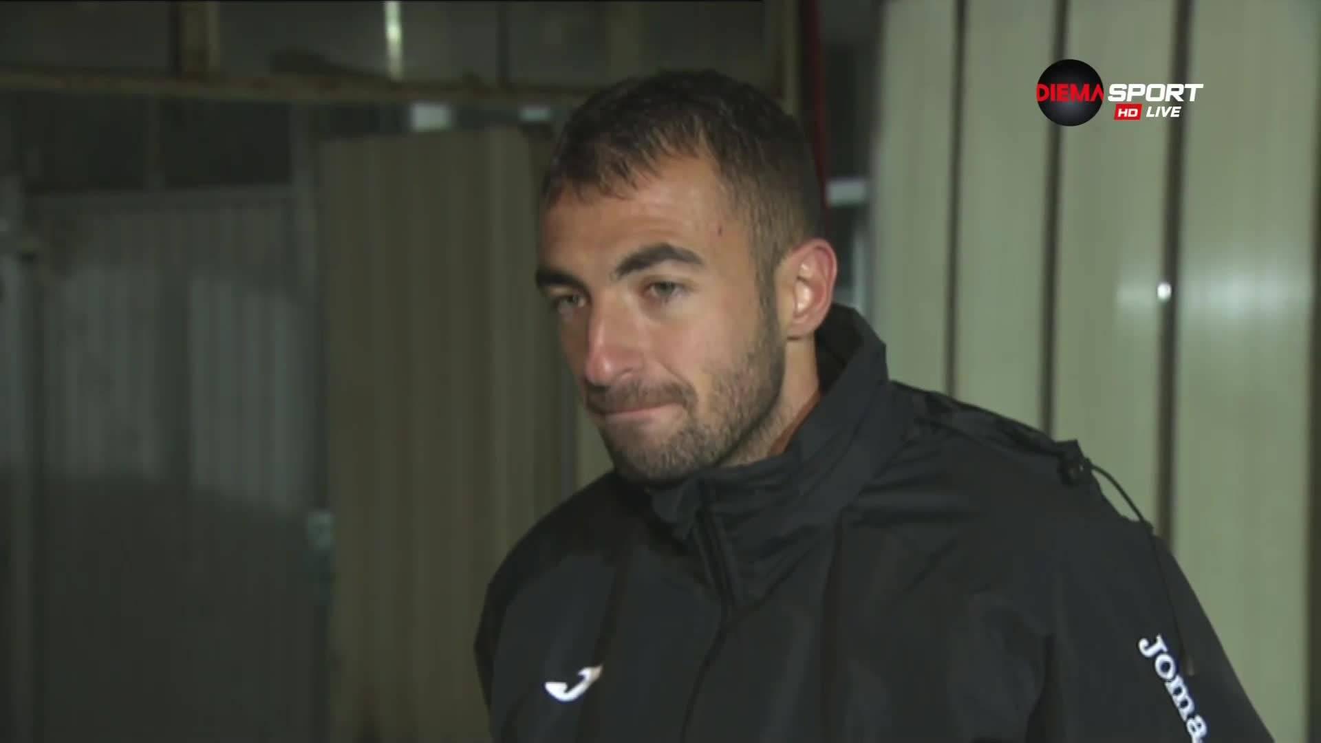 Младенов: Теренът не позволяваше да се играе много футбол