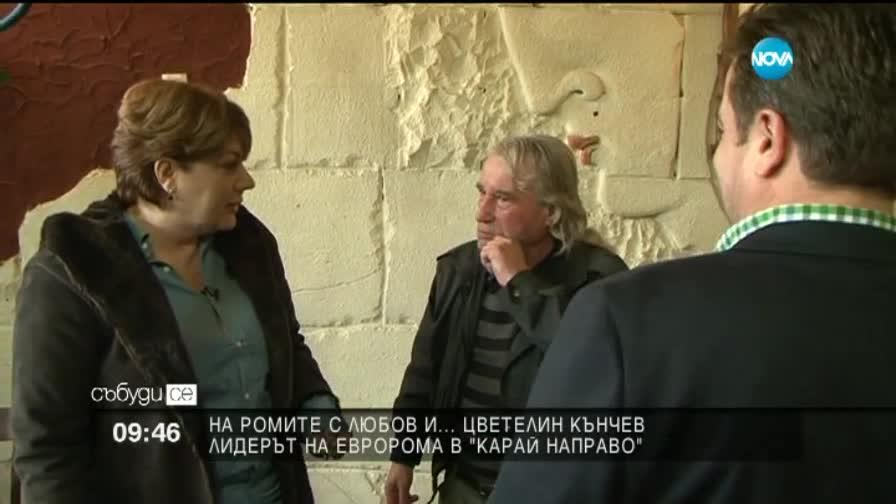 """""""Карай направо"""": Цветелин Кънчев … за ромите с любов"""