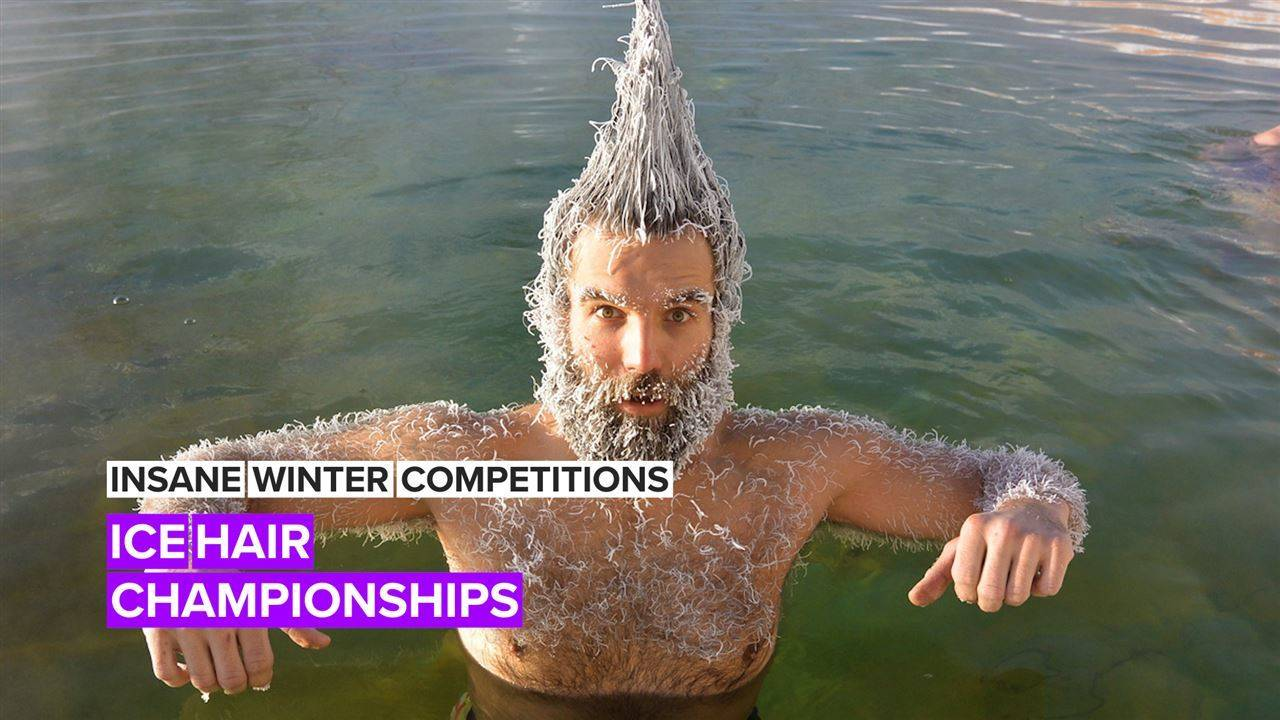 Insane Winter Competitions: Who deserves the hair freezing Championship?