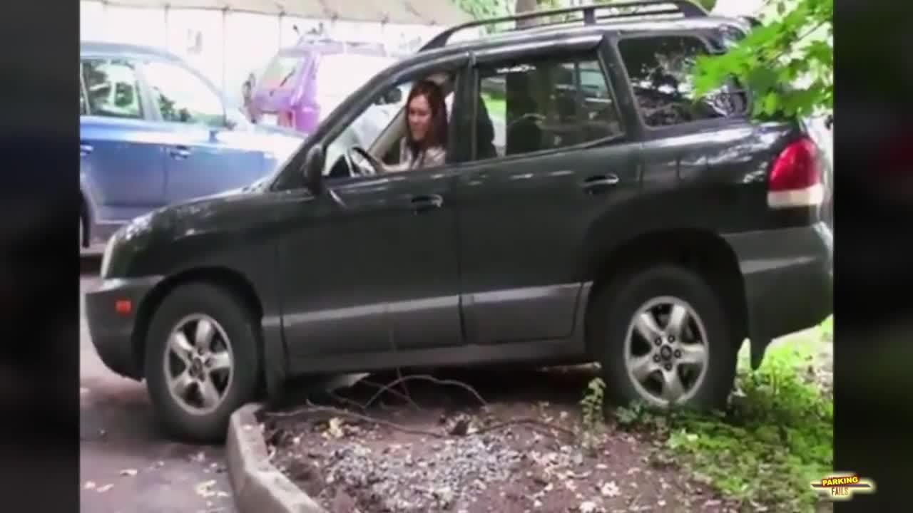 Провали при паркиране на автомобили - Monthlyfails