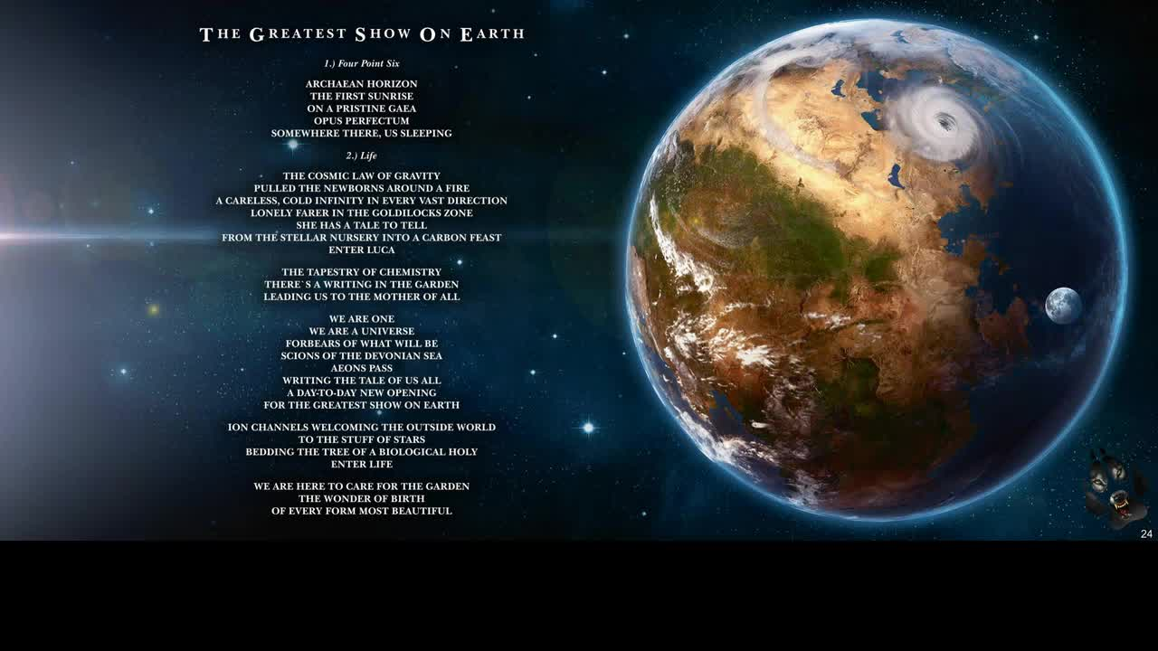 AIRBAG - THE GREATEST SHOW ON EARTH ALBUM LYRICS
