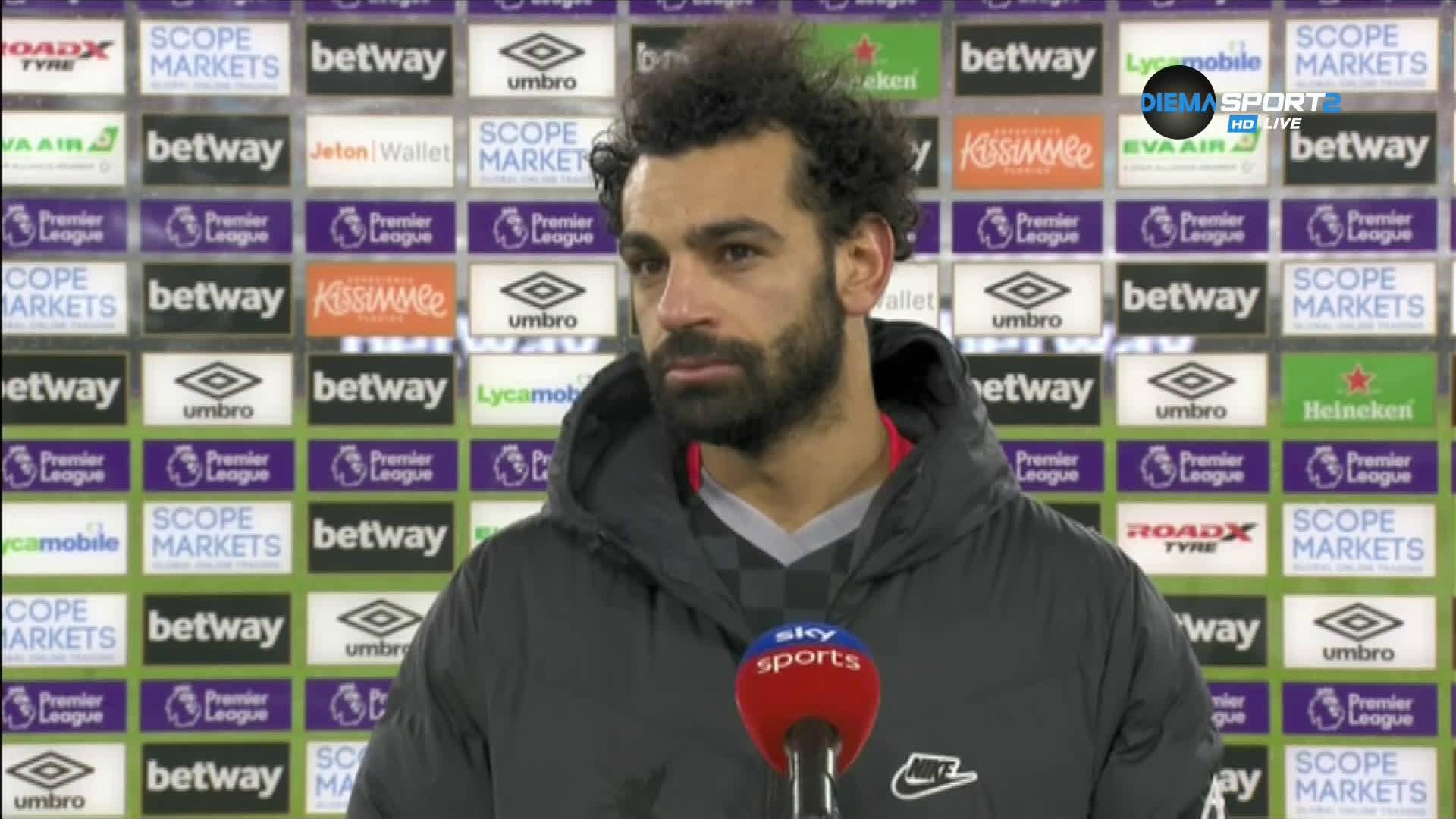 Мохамед Салах: Винаги се опитвам да имам влияние върху мачовете