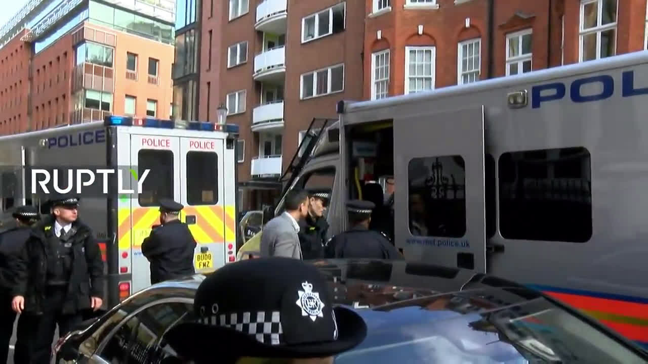 UK: Assange removed from Ecuadorian embassy