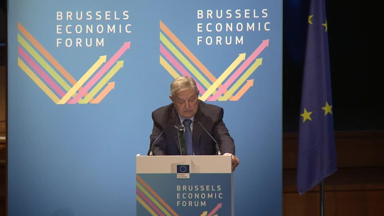 Belgium: EU in \'existential crisis\' under threat from \'hostile powers\' - Soros