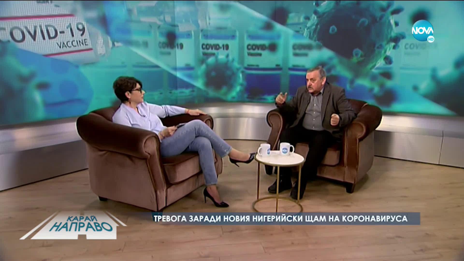 Карай направо с проф. Тодор Кантарджиев (06.03.2021)
