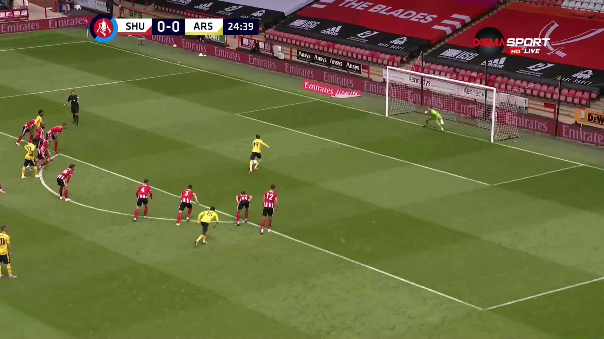 Шефилд Юнайтед - Арсенал 1:2 /репортаж/