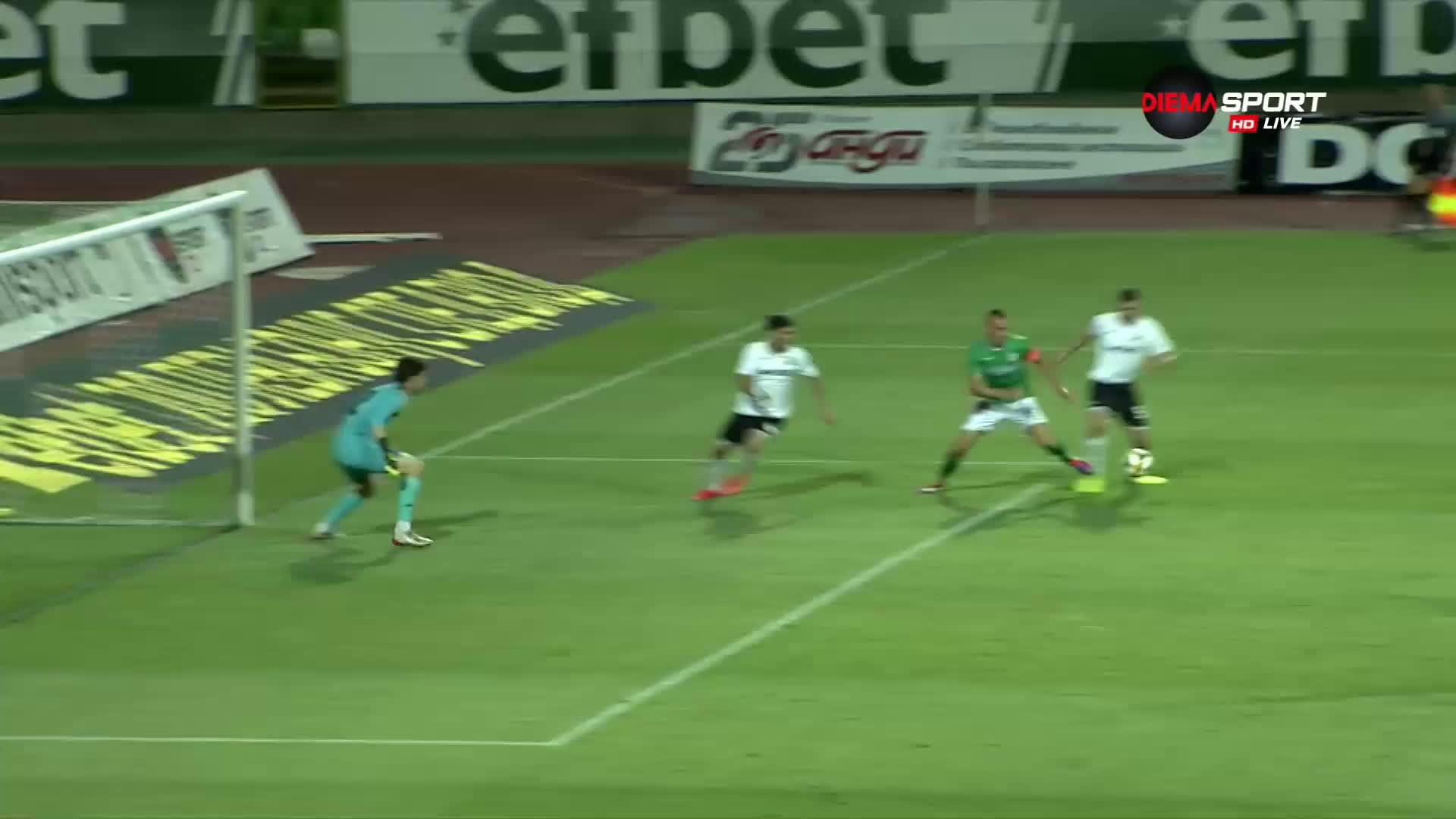 Втори гол за Камбуров срещу Славия