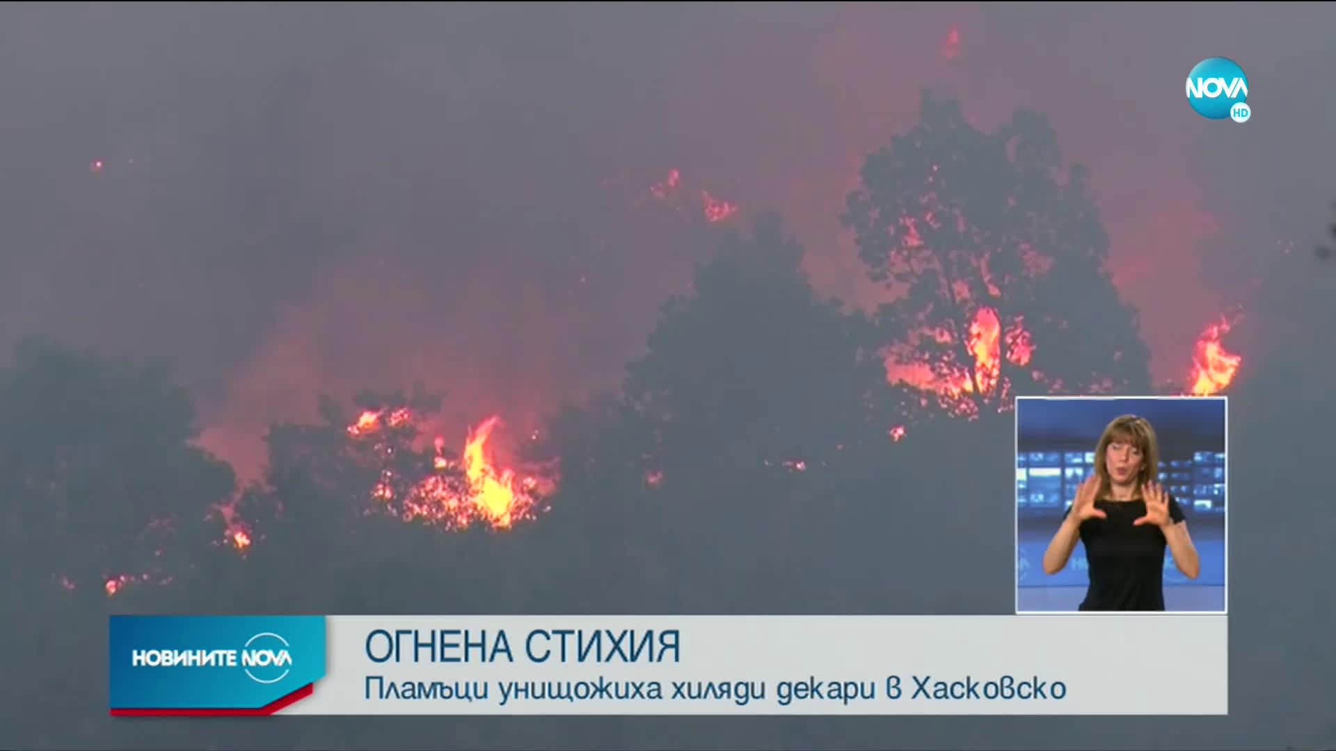 Локализираха пожарите в Хасковско