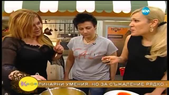 Гала ще изпие своето кафе с бизнес дамата Валя Червенкова - На кафе