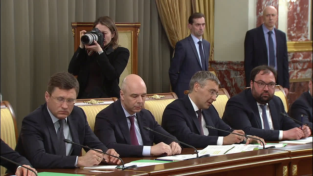 Russia: PM Mishustin holds first cabinet meeting
