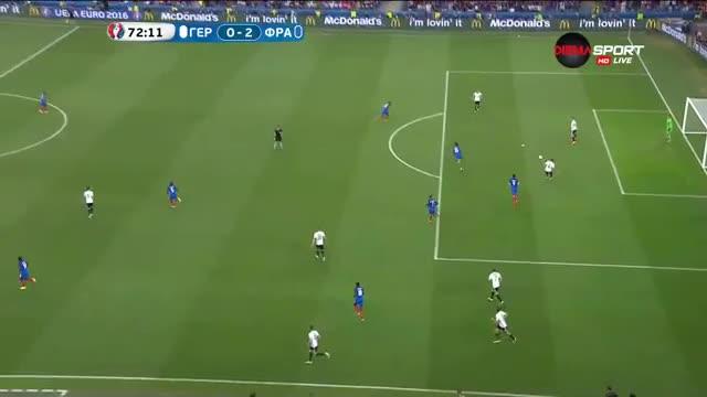 Втори гол за Гризман във вратата на Германия