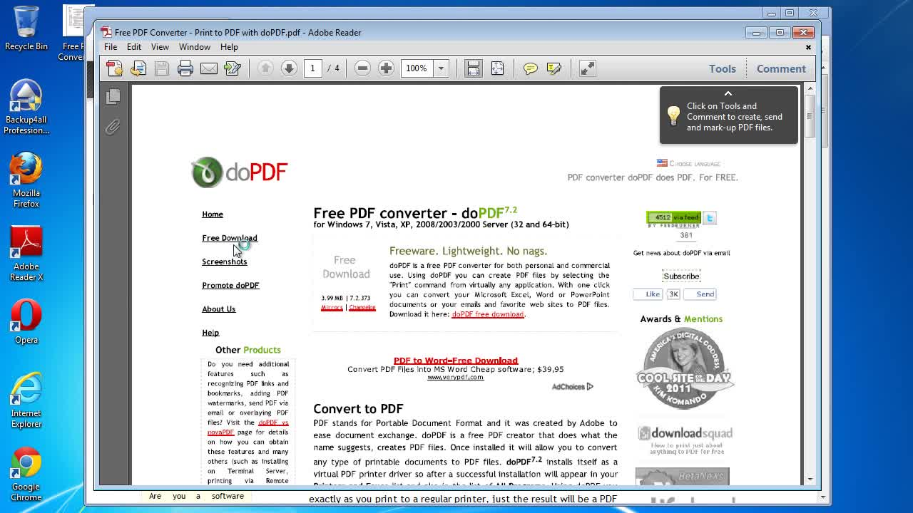 Novapdf convert a web page to pdf from web browsers в софтуер.
