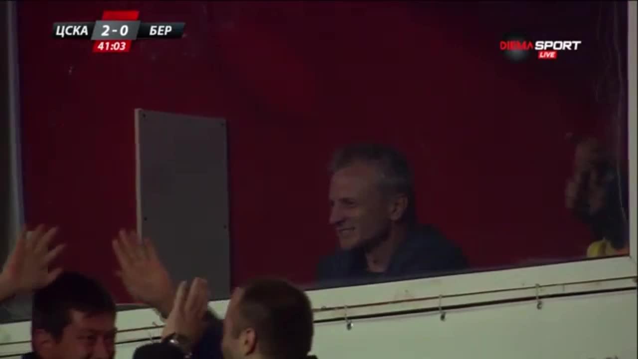 Ганчев сияе след 2:0 за ЦСКА
