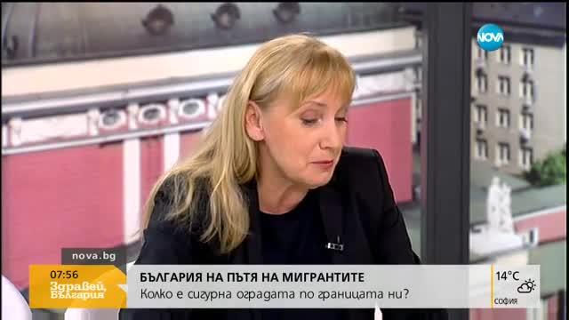 Елена Йончева: Камерите по границата не работят