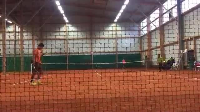 Григор впечатлява в тренировка с Нишикори