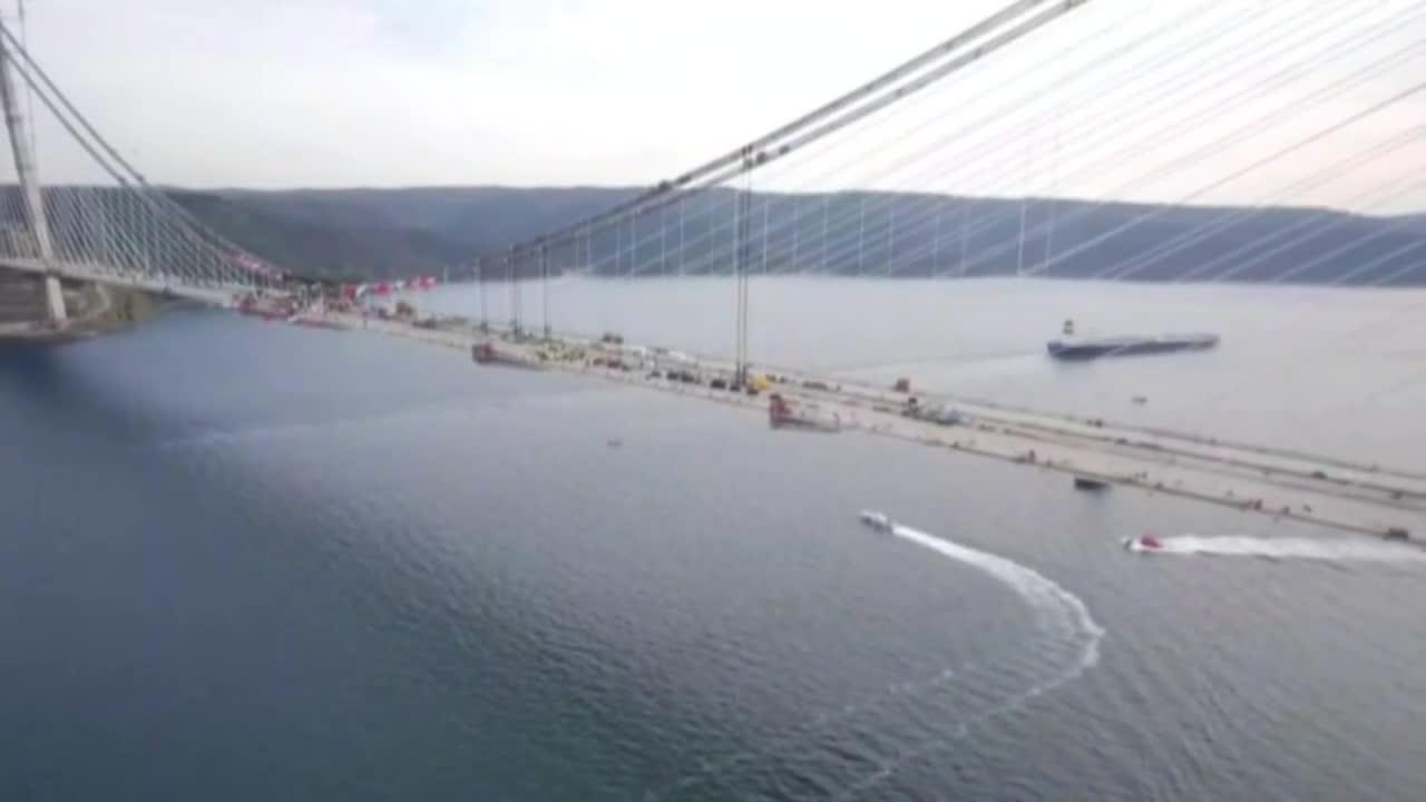 Turkey: Erdogan opens third Bosphorus Bridge linking Europe to Asia