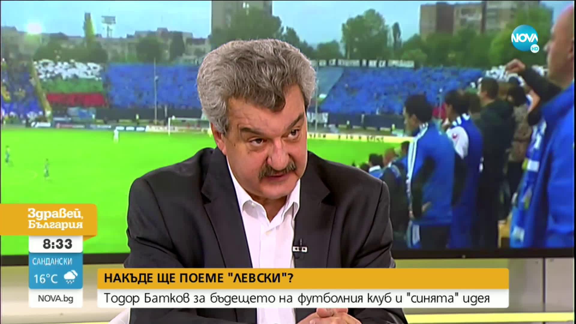 """Тодор Батков: Взетото решение за бъдещето на """"Левски"""" е най-доброто"""