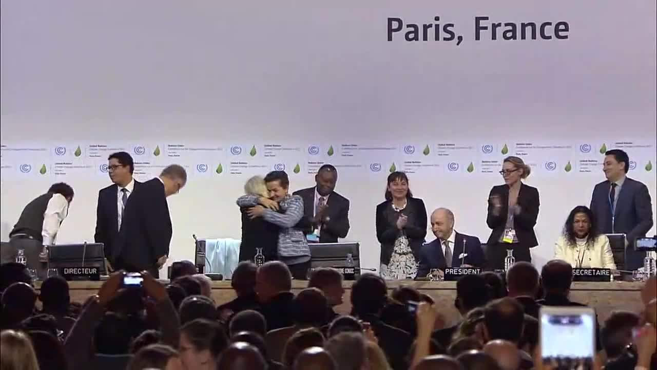 France: Historic Paris Agreement on climate change adopted