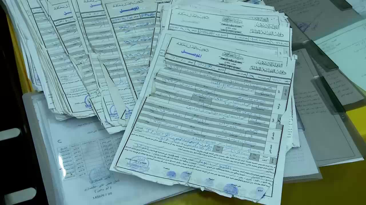 Iraq: Uncovered IS documents give rare glimpse into group's 'legal system' *PARTNER CONTENT*