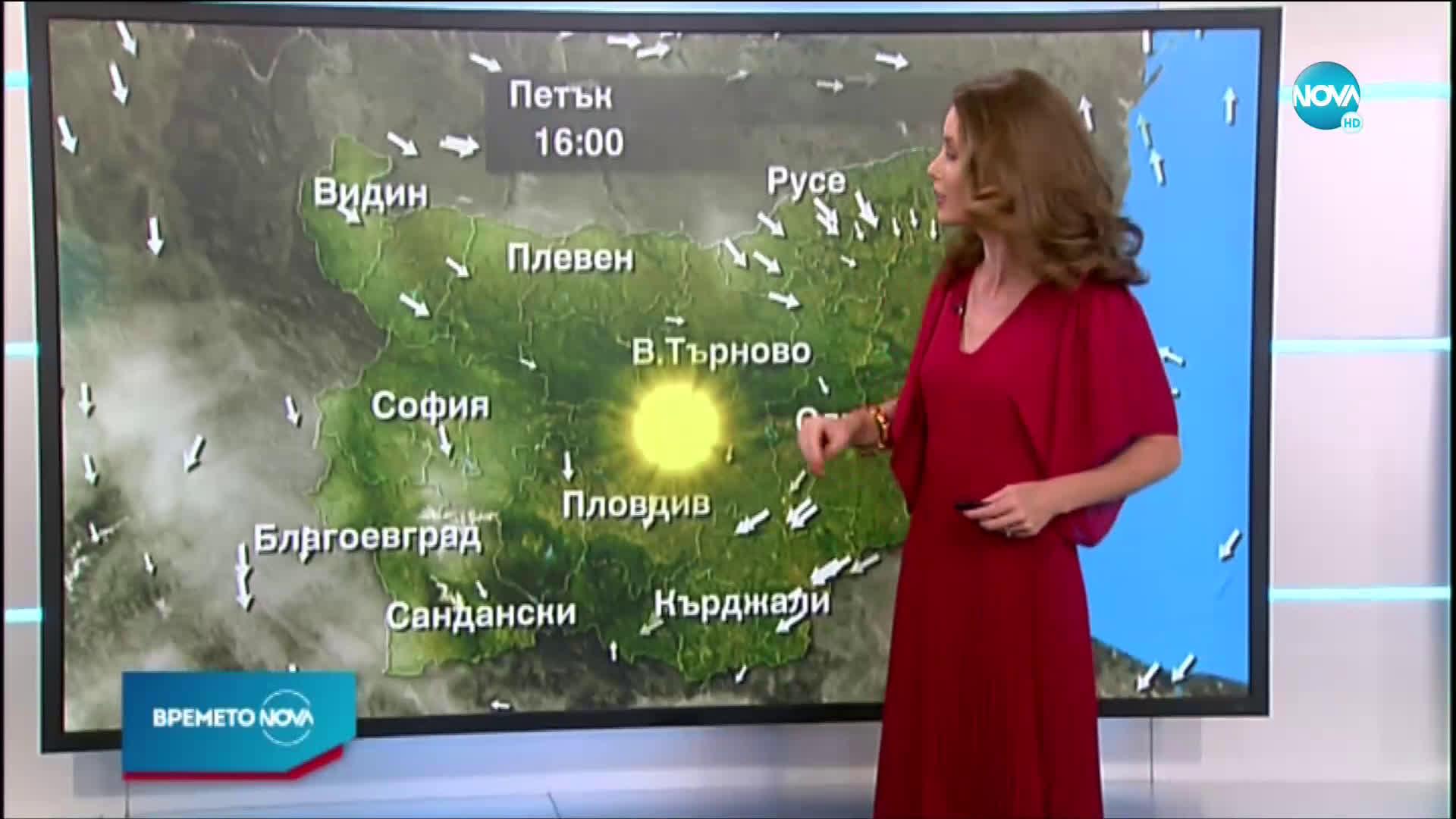 Прогноза за времето (31.07.2020 - обедна емисия)