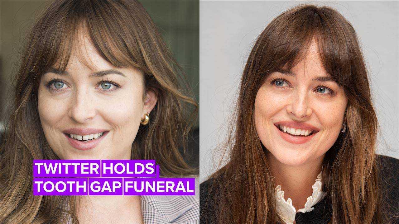 R.I.P. Dakota Johnson's tooth gap