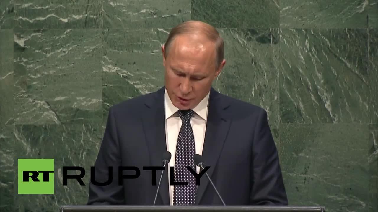 UN: Putin pledges to cut Russian greenhouse gas emissions by 2030