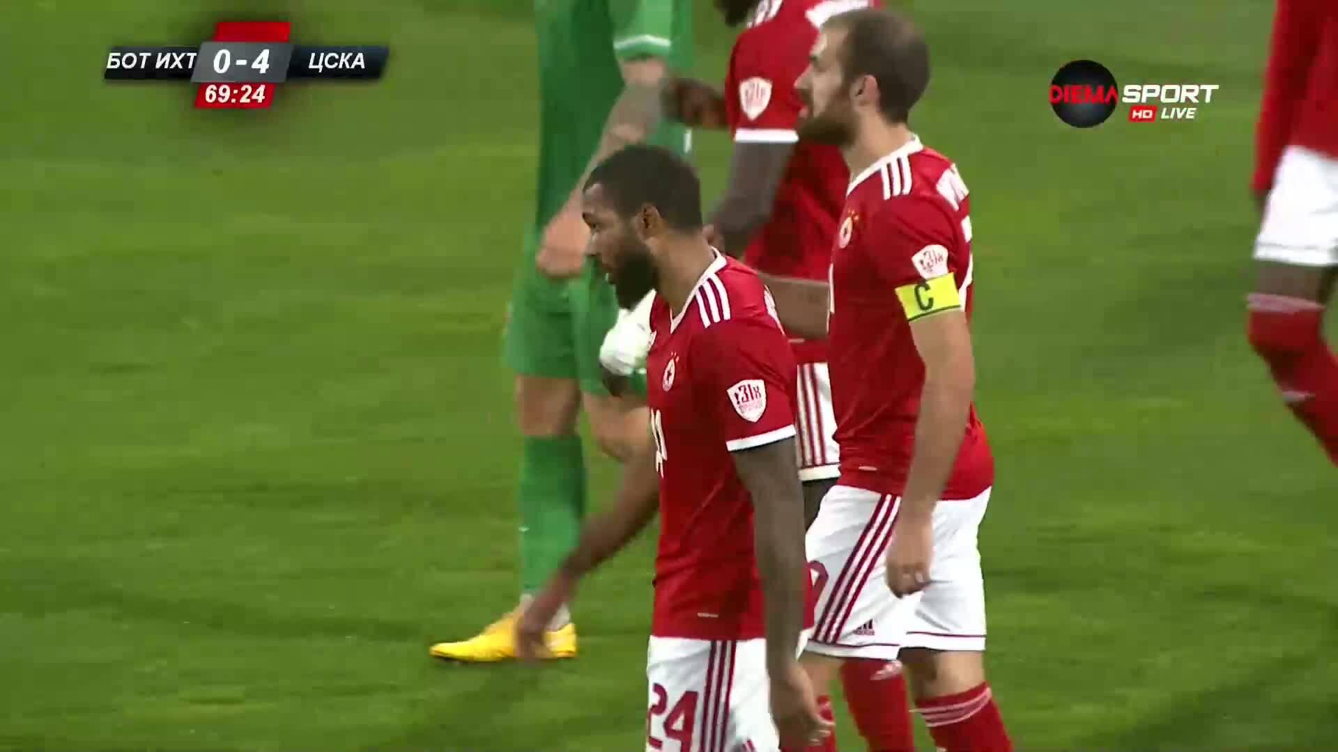 Ботев Ихтиман - ЦСКА 0:5 /репортаж/