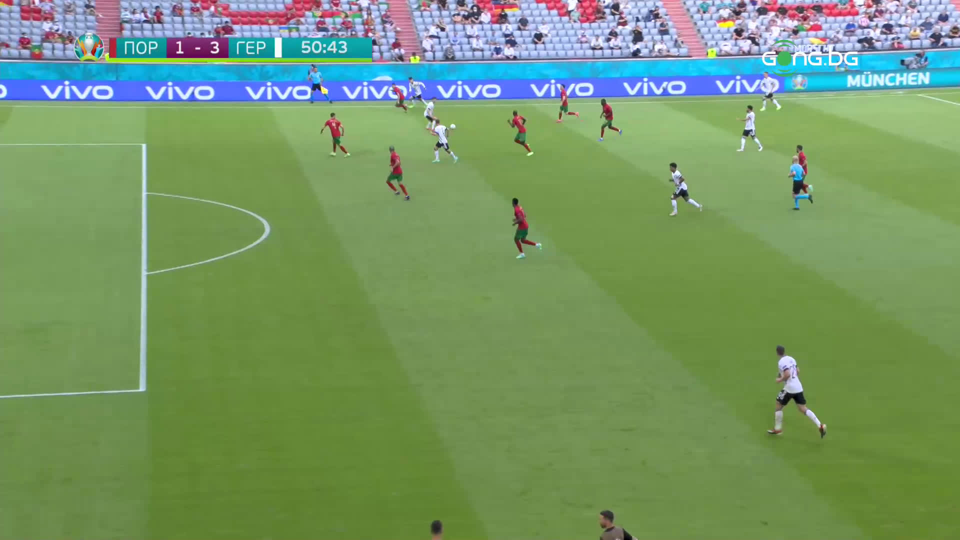 Хавертц вкара и трети гол за Германия