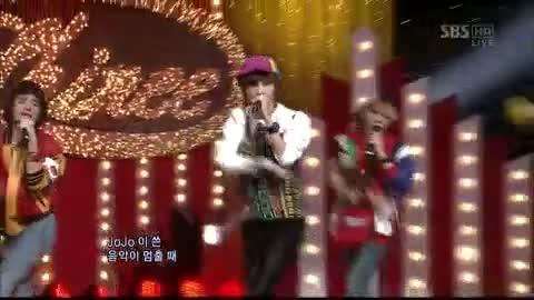 Shinee - Jojo on Inkigayo 13 12 2009 в SHINee