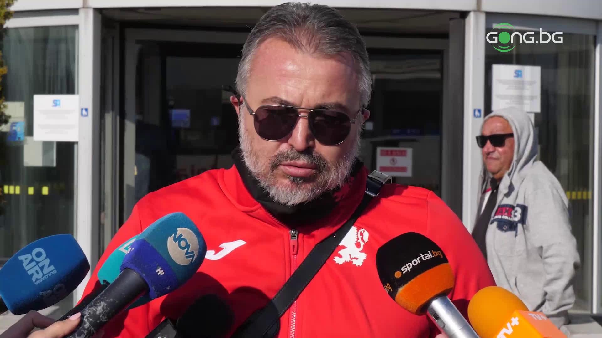 Ясен Петров: Искаме млад отбор, който да не го е страх от никой съперник