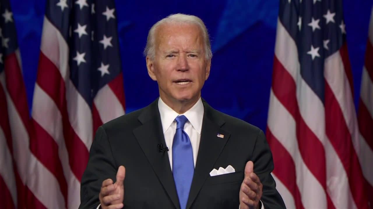 USA: Joe Biden accepts Democratic Party's nomination for president